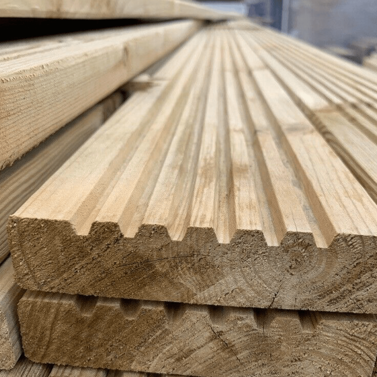 Treated Decking Board
