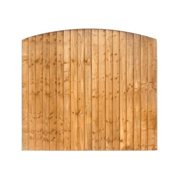 Closeboard Arched/Concaved Fencing